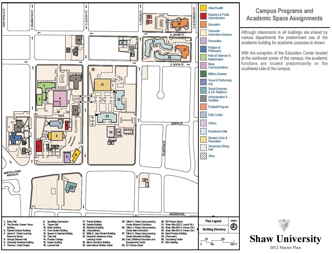 Shaw University Board of Trustees   Shaw University   Acalog ACMS™