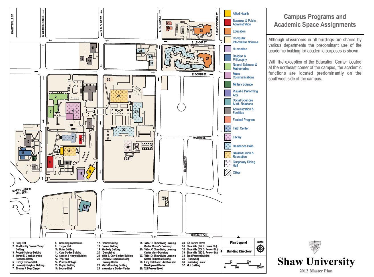 Shaw University   Acalog ACMS™